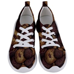 Chocolate Chip Cookies Pattern Women s Lightweight Sports Shoes