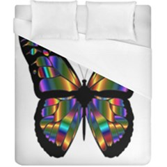 Abstract Animal Art Butterfly Duvet Cover (california King Size) by Samandel