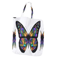 Abstract Animal Art Butterfly Giant Grocery Tote