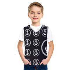 Anchor Pattern Kids  Sportswear