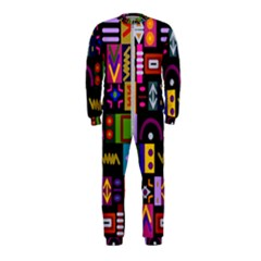 Abstract A Colorful Modern Illustration Onepiece Jumpsuit (kids) by Samandel