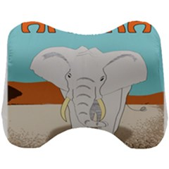 Africa Elephant Animals Animal Head Support Cushion