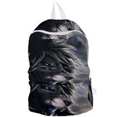 Angry Lion Digital Art Hd Foldable Lightweight Backpack