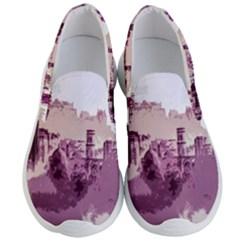 Abstract Painting Edinburgh Capital Of Scotland Men s Lightweight Slip Ons