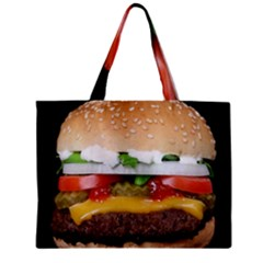 Abstract Barbeque Bbq Beauty Beef Zipper Mini Tote Bag by Samandel