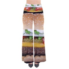 Abstract Barbeque Bbq Beauty Beef So Vintage Palazzo Pants by Samandel