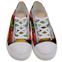 Abstract Barbeque Bbq Beauty Beef Women s Low Top Canvas Sneakers