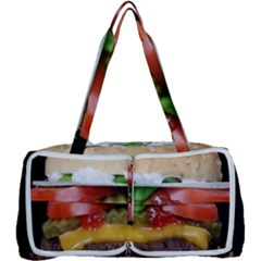 Abstract Barbeque Bbq Beauty Beef Multi Function Bag