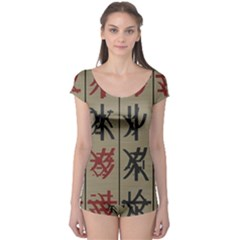 Ancient Chinese Secrets Characters Boyleg Leotard