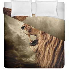 Roaring Lion Duvet Cover Double Side (king Size)