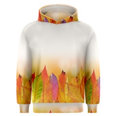 Autumn Leaves Colorful Fall Foliage Men s Overhead Hoodie