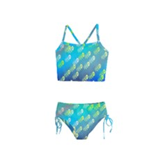 Animal Nature Cartoon Wild Wildlife Wild Life Girls  Tankini Swimsuit