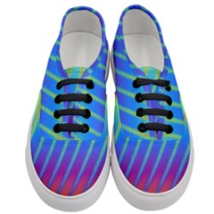 Abstract Fractal Multicolored Background Women s Classic Low Top Sneakers