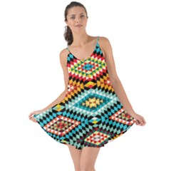African Tribal Patterns Love The Sun Cover Up