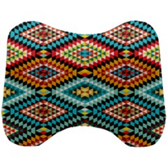 African Tribal Patterns Head Support Cushion