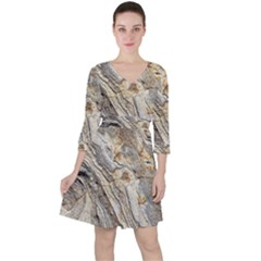 Background Structure Abstract Grain Marble Texture Ruffle Dress