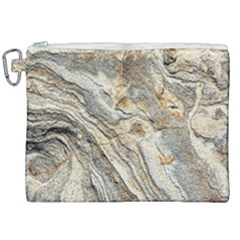 Background Structure Abstract Grain Marble Texture Canvas Cosmetic Bag (xxl)