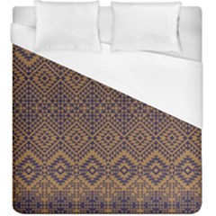 Aztec Pattern Duvet Cover (king Size)