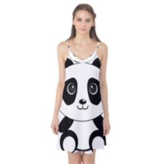 Bear Panda Bear Panda Animals Camis Nightgown by Samandel