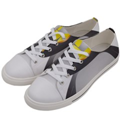 Cute Penguin Animal Women s Low Top Canvas Sneakers by Samandel