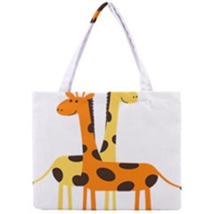 Giraffe Africa Safari Wildlife Mini Tote Bag