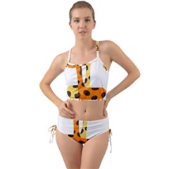Giraffe Africa Safari Wildlife Mini Tank Bikini Set