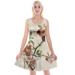 Georgia O keeffe Untitled Vase Of Flowers  Reversible Velvet Sleeveless Dress
