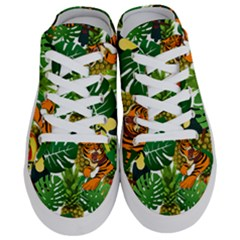 Tropical Pelican Tiger Jungle Half Slippers by snowwhitegirl