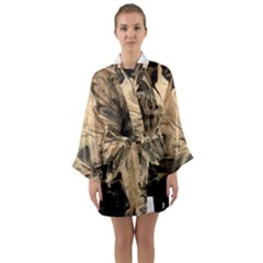 Honey Bee Long Sleeve Kimono Robe