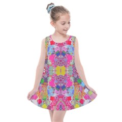 Snowflowers Kids  Summer Dress by plaides