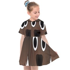 Dog Pup Animal Canine Brown Pet Kids  Sailor Dress