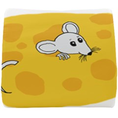 Rat Mouse Cheese Animal Mammal Seat Cushion