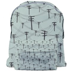 Telephone Lines Repeating Pattern Giant Full Print Backpack