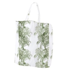 Trees Tile Horizonal Giant Grocery Tote