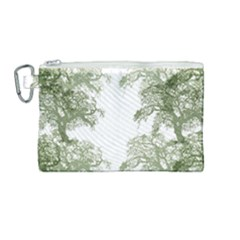 Trees Tile Horizonal Canvas Cosmetic Bag (medium) by Samandel
