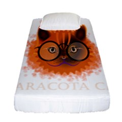 Cat Smart Design Pet Cute Animal Fitted Sheet (single Size)