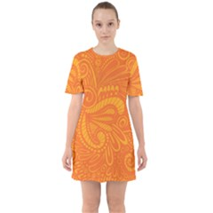 001 2 Sixties Short Sleeve Mini Dress
