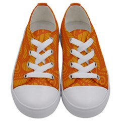 001 2 Kids  Low Top Canvas Sneakers