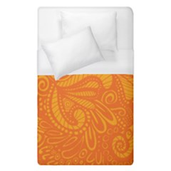 Pop Orange Duvet Cover (single Size) by ArtByAmyMinori