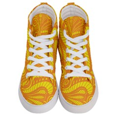 Pop Sunny Women s Hi Top Skate Sneakers