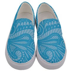 Pop Sky Men s Canvas Slip Ons