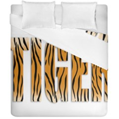 Tiger Bstract Animal Art Pattern Skin Duvet Cover Double Side (california King Size)