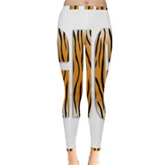 Tiger Bstract Animal Art Pattern Skin Inside Out Leggings
