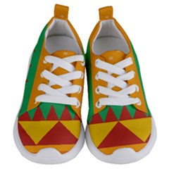 Burger Bread Food Cheese Vegetable Kids  Lightweight Sports Shoes