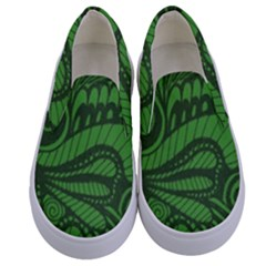 Natural Universe Kids  Canvas Slip Ons