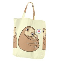 Sloth Giant Grocery Tote