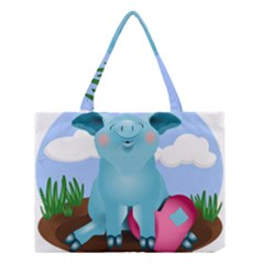 Pig Animal Love Medium Tote Bag