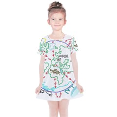 Atw Clr 2 Atw Pro Kids  Simple Cotton Dress