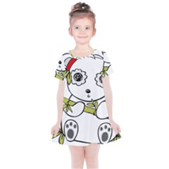 Panda China Chinese Furry Kids  Simple Cotton Dress