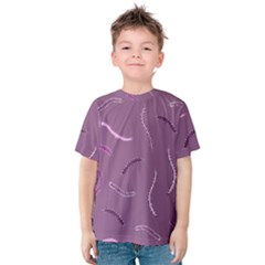 Plumelet Pen Ethnic Elegant Hippie Kids  Cotton Tee